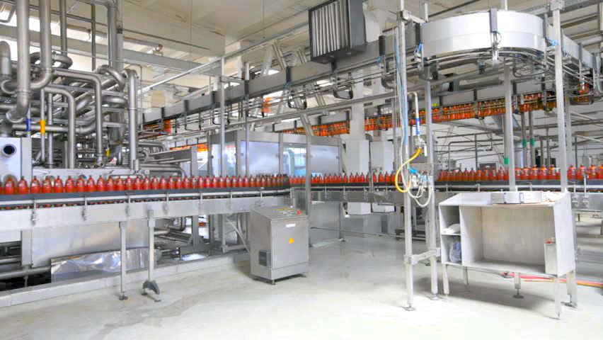 LED Lighting for Bottling Line