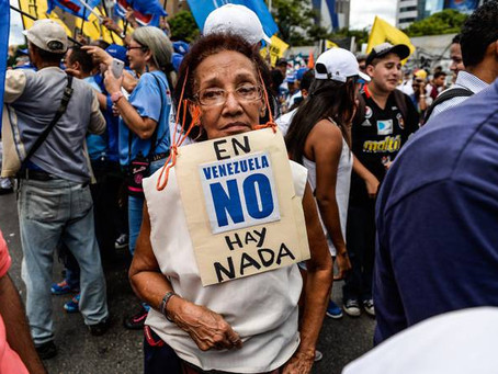 Venezolanos se mueren de hambre, pero las mujeres del 'Escuadrón' dicen esto sobre el socialismo