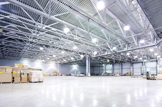 led warehouse lighting norwich norfolk suffolk