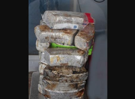 Patrulla Fronteriza detiene a un mexicano al entrar a EE.UU. con $2 millones en Metanfetamina