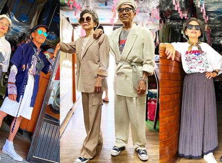Dos abuelos taiwaneses y dueños de una lavandería se convierten en un éxito en Instagram