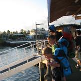 Docks at Santa Cruze Island, Galapagos
