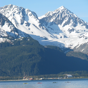 Camping at Lowell Point in Seward