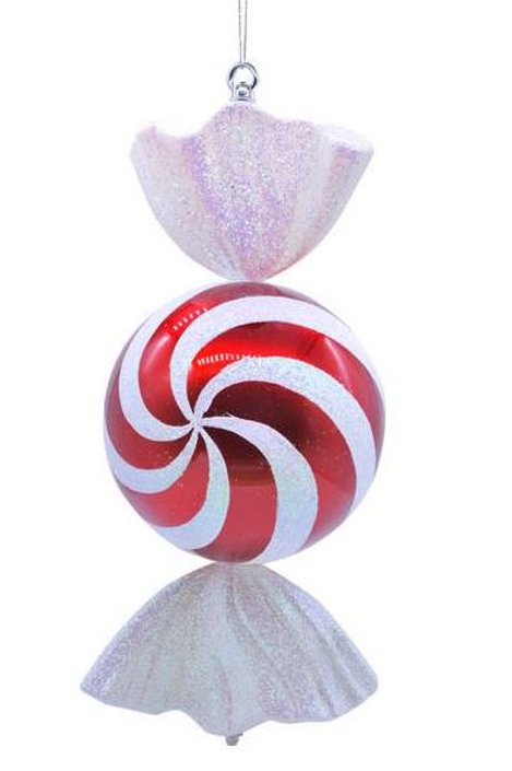 50cm Red And White Stripe Candy Ball