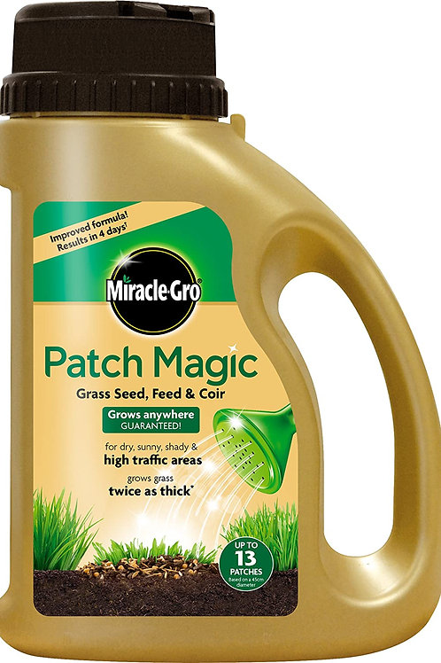 Miracle Gro Lawn Patch Jug Grass Seed Feed & Coir