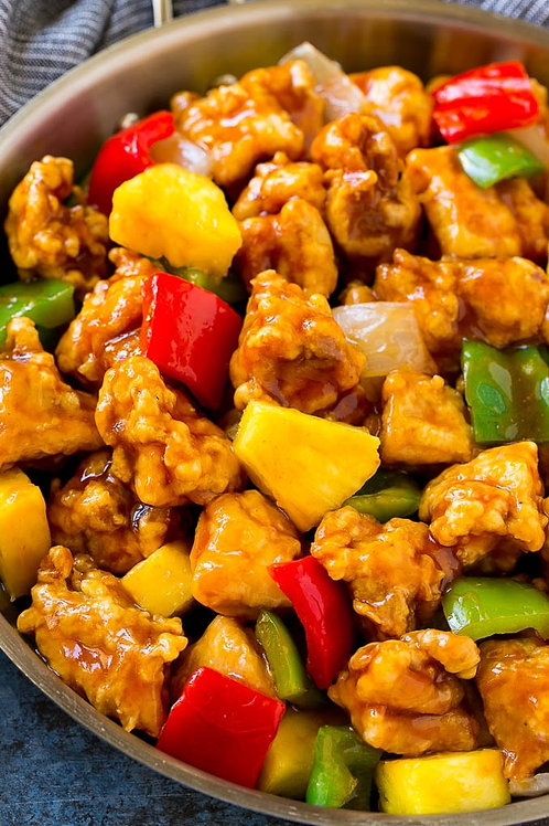 Home-made Sweet and Sour Chicken