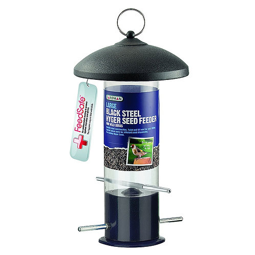 Black Steel Nyger Feeder