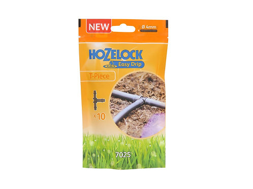 Hozelock Irrigation T Piece 10 Pack