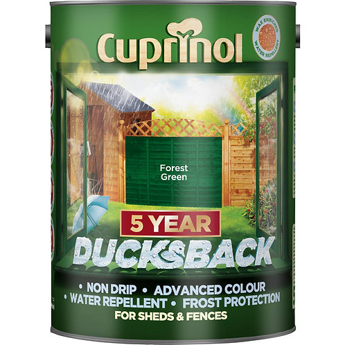 Cuprinol Forest Green 5L