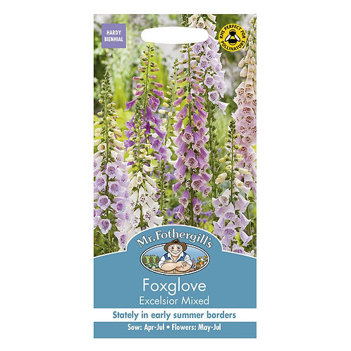 Mr Fothergills Seeds Foxglove