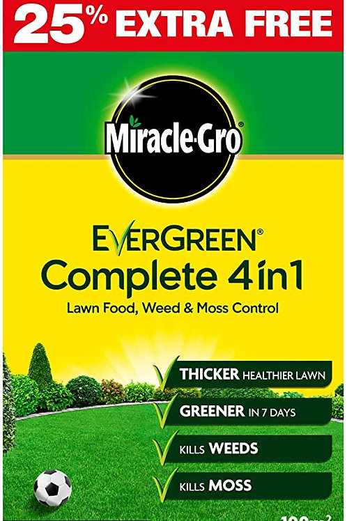 Miracle Gro Lawn Complete 4 In 1 3.5kg Extra Free