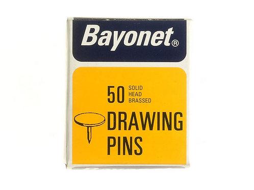 Bayonet Drawing Pins