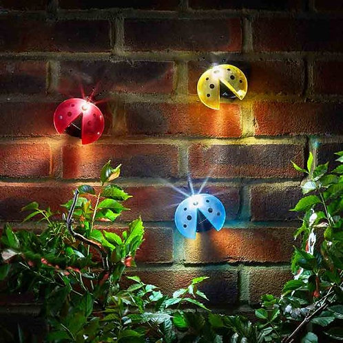 Lady Bug Lights - Solar Lanterns