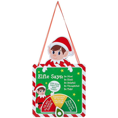 Elf Design Naughty Or Nice Meter
