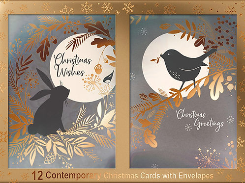 12 Christmas Cards