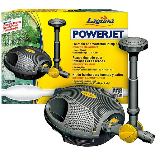 Laguna Powerjet Fountain & Waterfall Kit