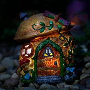 Solar Fairy House Small
