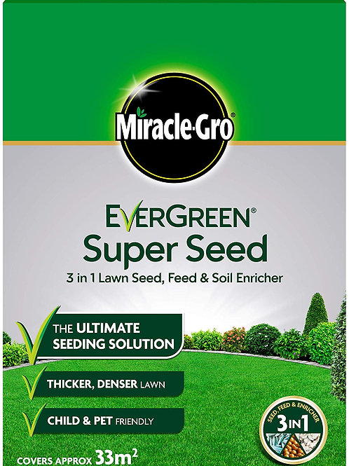 Miracle Gro Lawn Super Lawn Seed 1kg