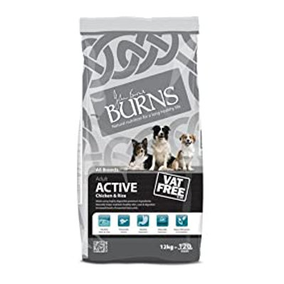 Burns Active 12kg Chicken & Rice