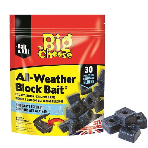 STV Big Cheese All Weather Block Bait x30