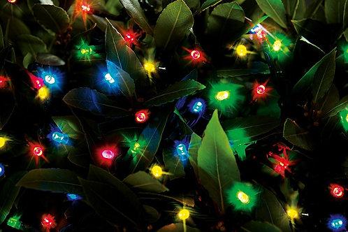 50 LED Solar String Lights Multi Colour