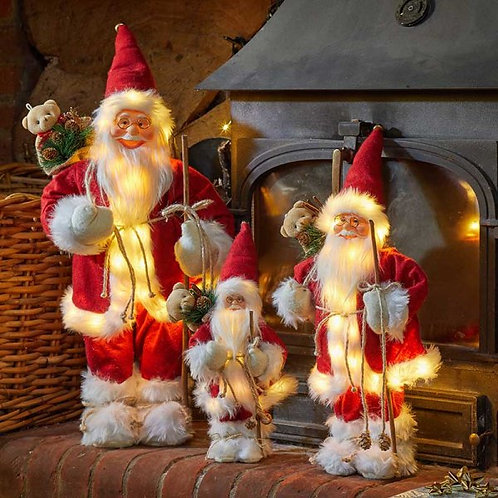Inlit Father Christmas