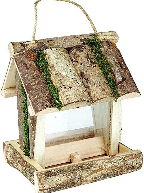 Gardman Rustic Wooden Seed Feeder