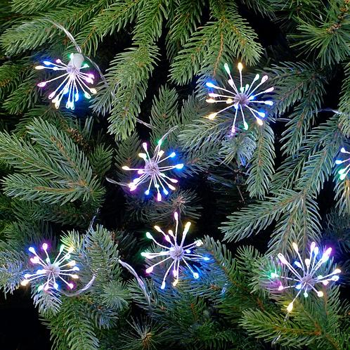 Festive 10 Starburst Lights