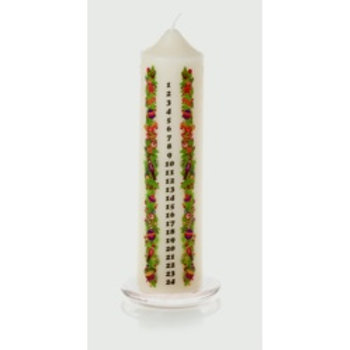 Premier Robin Advent Candle