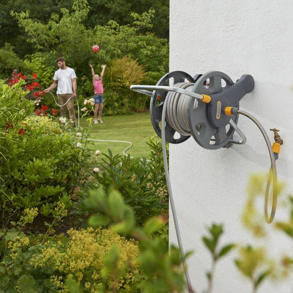Hozelock wall mounted reel