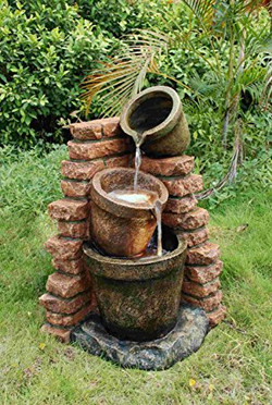 Cascading Pots Water Feature