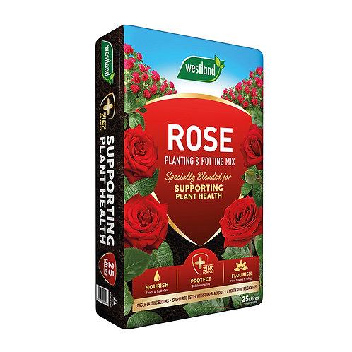 Westland Rose Planting & Potting Mix Compost 25L (Rose, Tree & Shrub)