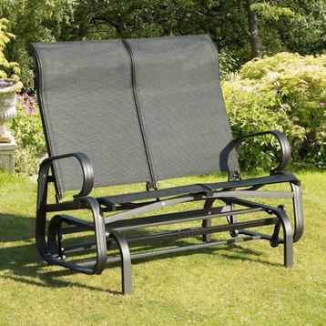 Black Twin Glider Seat