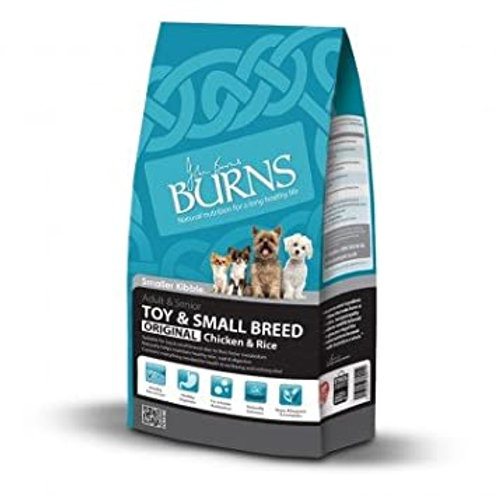 Burns Adult Small & Toy 2kg Chicken & Rice