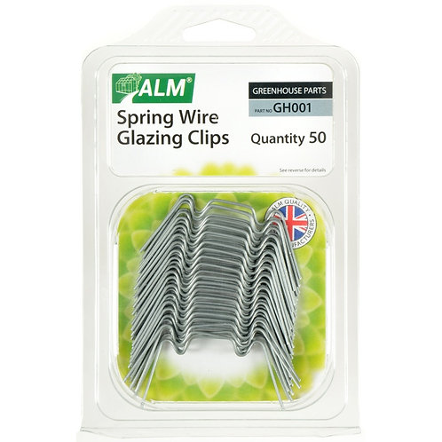 ALM Spring Wire Glazing With Clips Pack Of 50
