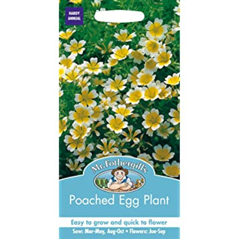 Mr Fothergills Seeds Poached Egg Plant