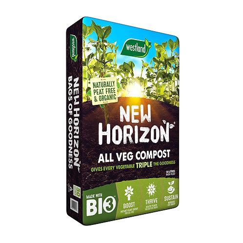 New Horizon Veg Growing Compost/Gro Bag