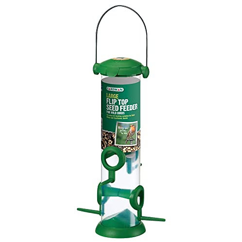 Gardman Fliptop Seed Feeder Large