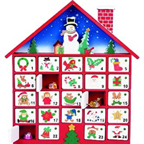 Premier 40cm Wood Advent House