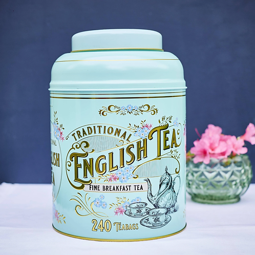 NET Vintage Tin 240 Breakfast Tea Bags 480g