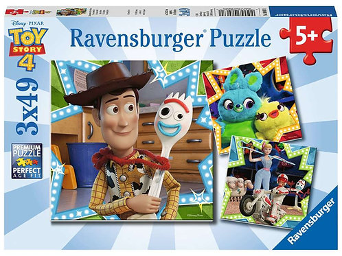 Ravensburger Disney Toy Story 4 - 3x49 Piece Puzzle