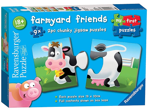 Ravensburger Farmyard Friends Puzzle
