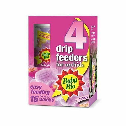 Bayer Baby Bio Orchid Drip Feeders 4 X 40ml