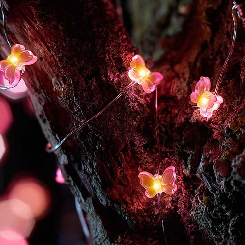 30 Butterfly Firefly String Light