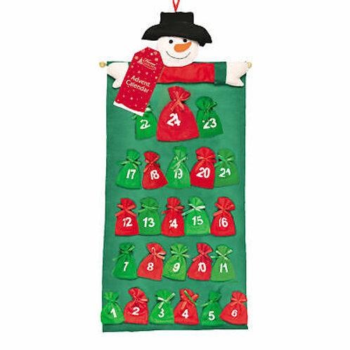 Advent Calendar Plush Top