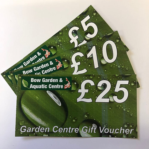 Bow Garden Centre Gift Voucher