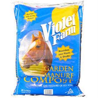 Violet Farm Garden Manure Compost