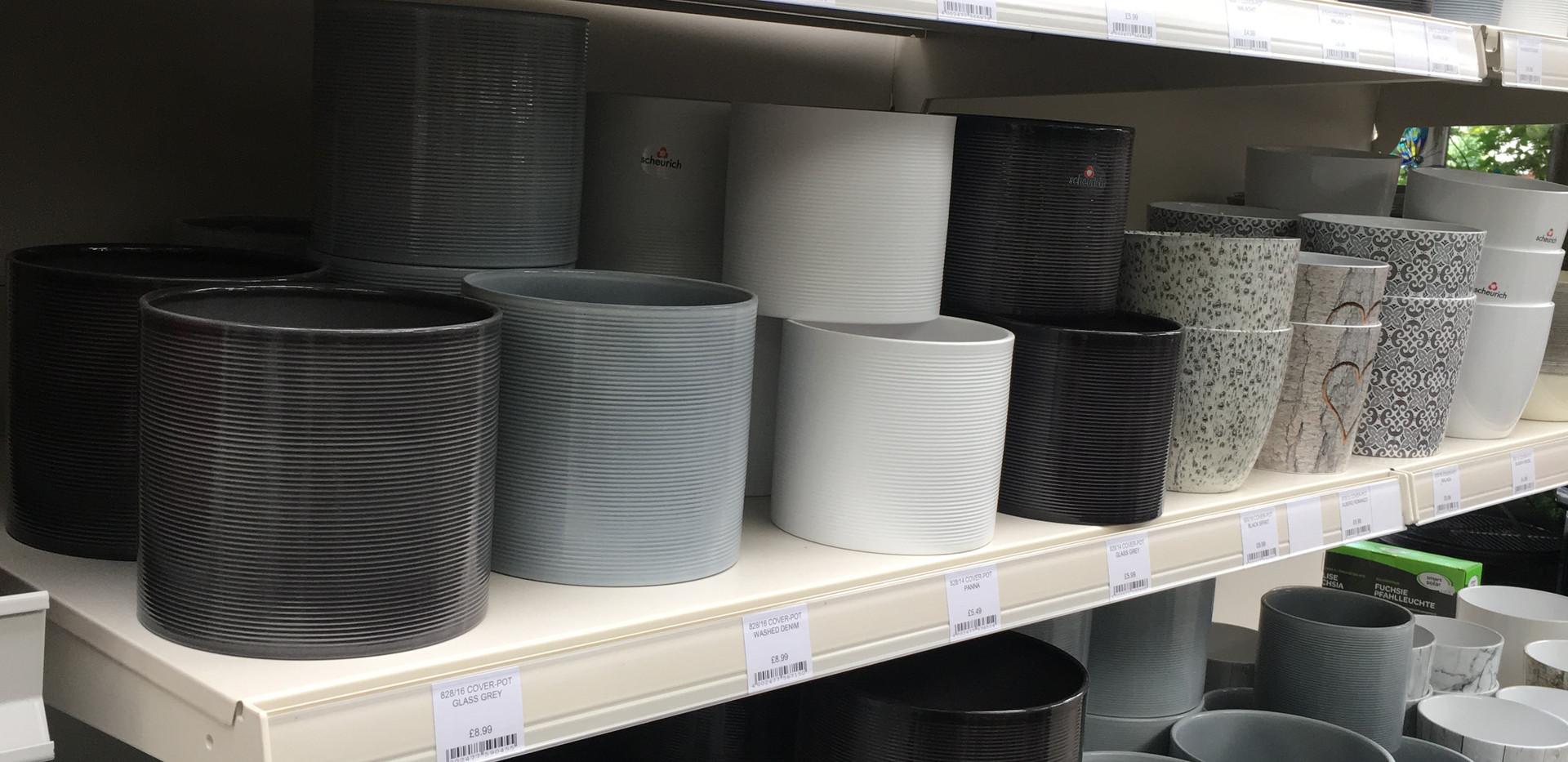 Indoor Cover Pots