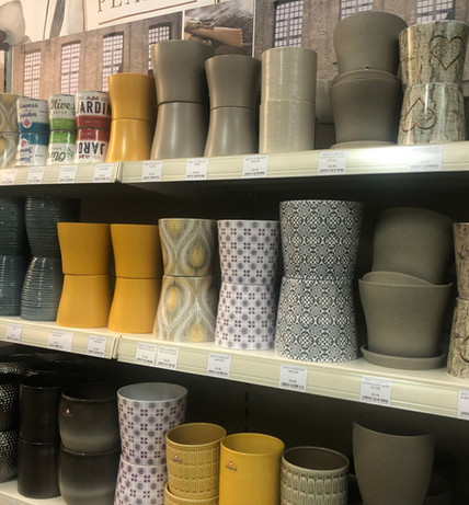 Patterned Coverpots