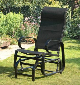 Black Glider Chair